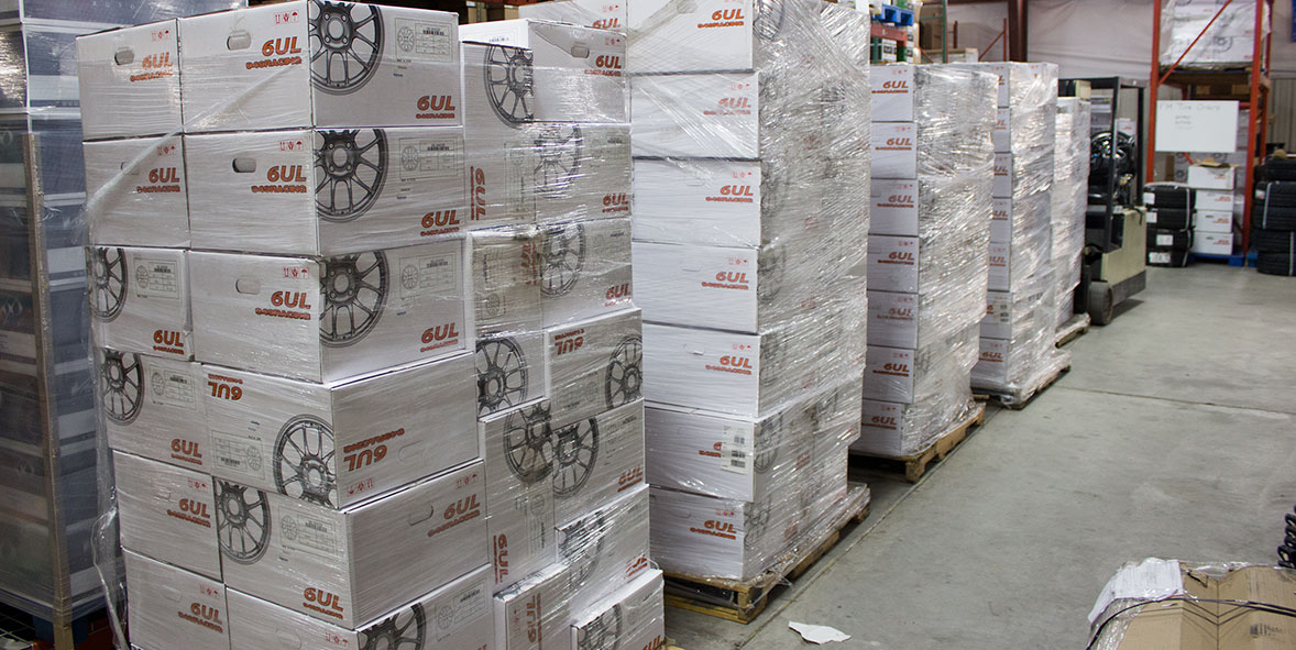 Projects in the shop: The latest shipment of 6ULs has arrived!