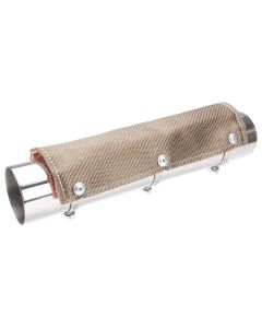 DEI Titanium heat shield (pipe not included)