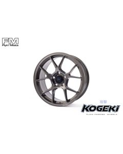 "Kogeki gunmetal grey metallic 17"" wheel for NC. Exclusively from Flyin' Miata."