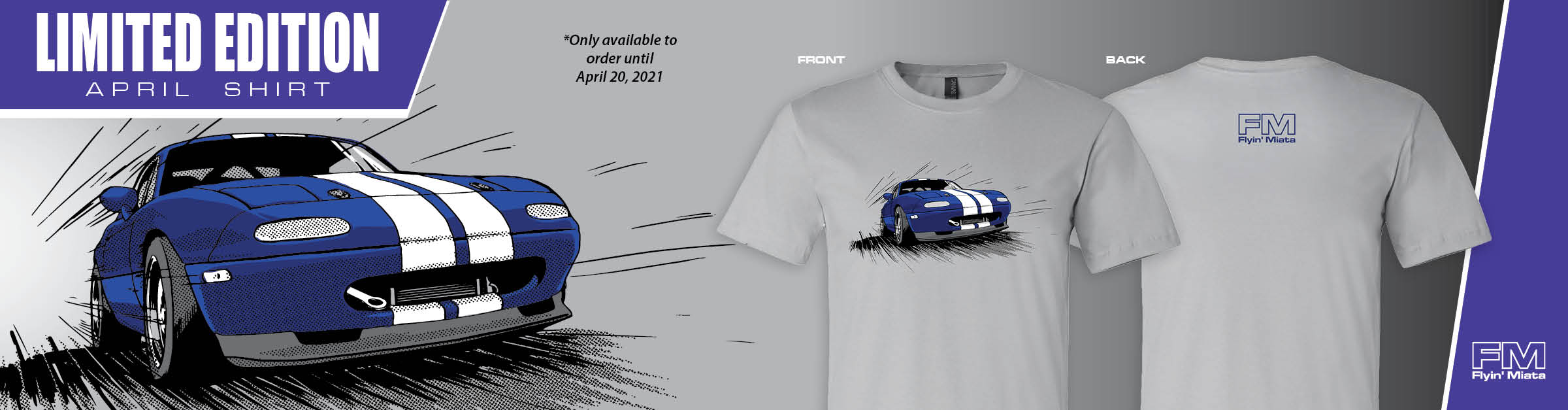 NEW! FM Exclusive Limited Edition April Shirt!