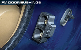 Flyin' Miata Redesigned Door Bushings