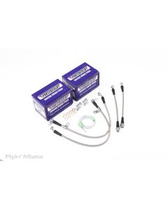 Pad / line / bleeder hose combo for ND with Standard package