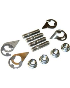 Stage 8 hardware with Inconel studs
