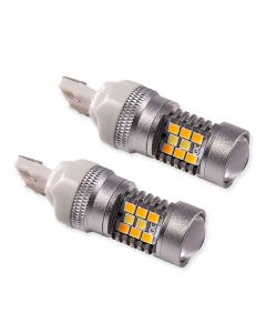 7443 HP24 White/Amber Switchback bulbs