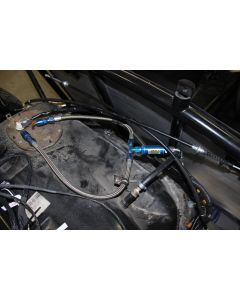 The tank connection for an NB-based car. The NA has a separate return line from the FPR on the fuel rail.