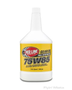 Redline 75W85 differential gear oil (ND)