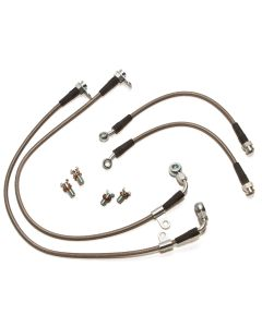 Braided stainless steel brake line kit (NC chassis)