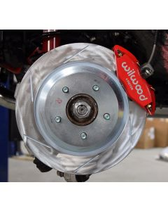 Slotted rear rotors for NC Little Big Brake Kit
